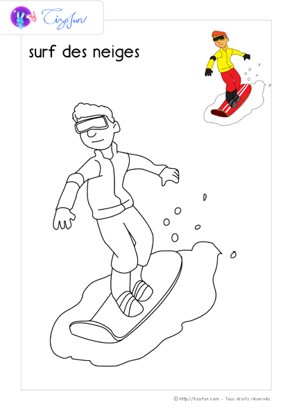 coloriage-sport-dessin-a-colorier-surf-des-neiges