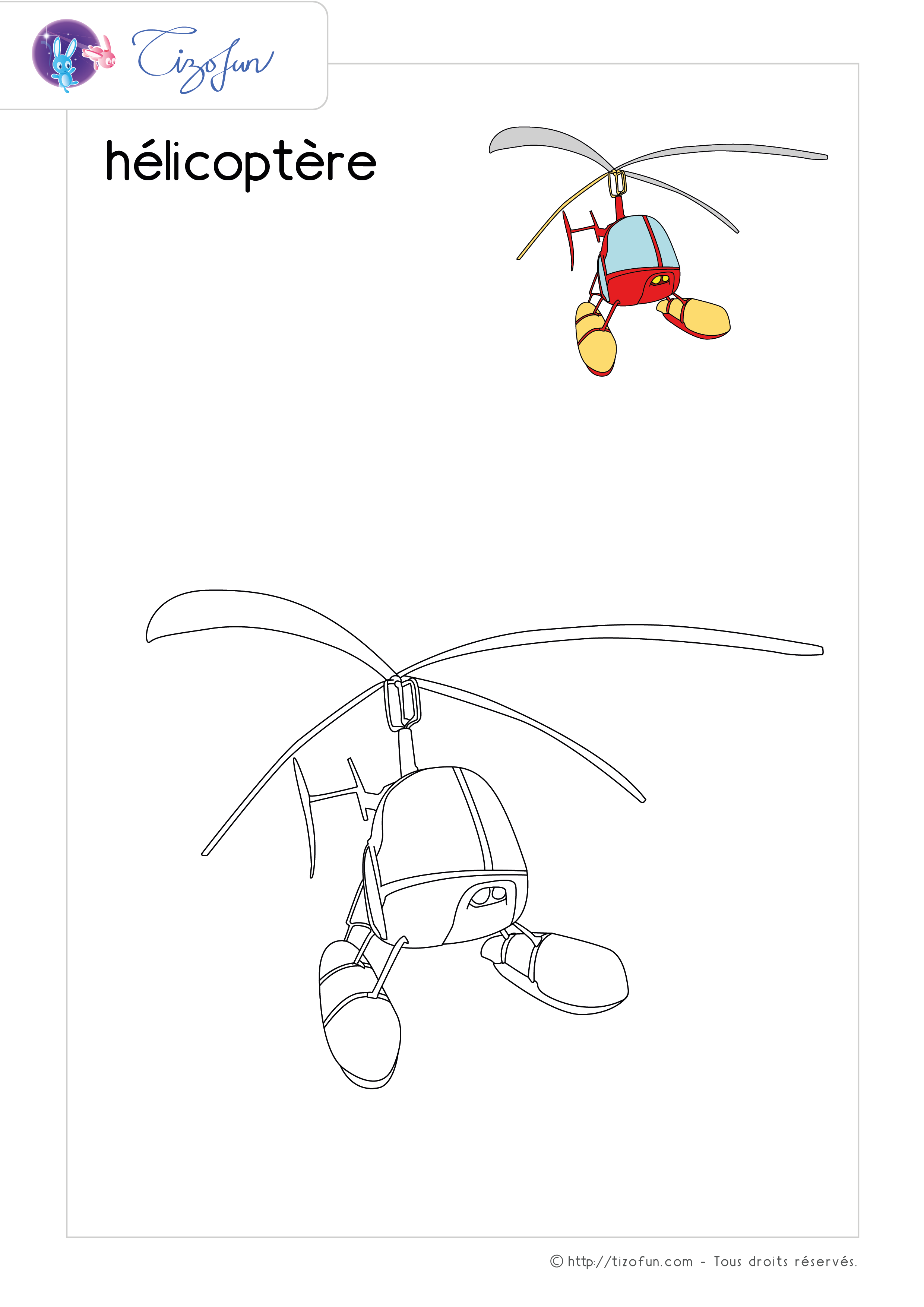 coloriage-transport-dessin-helicoptere
